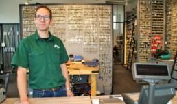 Jeroen van der Werf, eigenaar Sleutelspecialist Delft