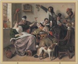 Jan Steen etalagespel Delft