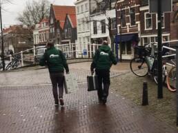 Martijn en Tim op pad