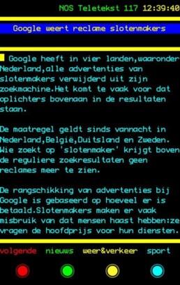 Google weert advertenties van slotenmakers