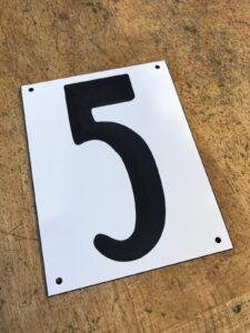 Nieuwe huisnummer 5