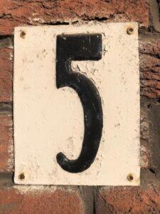Oude huisnummer 5